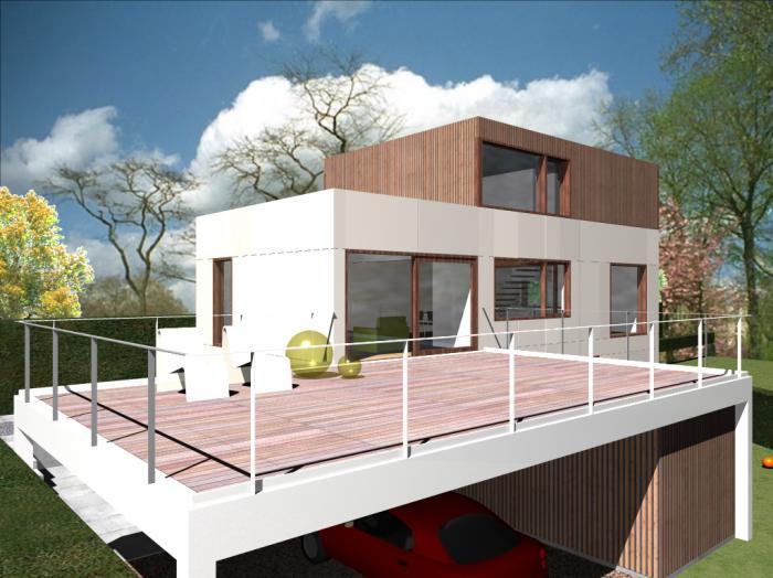 Pascal schneider architect architectuur interieurarchitectuur interieur bouwen - Moderne verdieping ...
